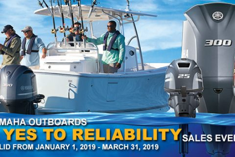 Yamaha Outboards Say Yes to Reliability