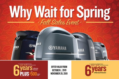 Why Wait for Spring – Yamaha's Fall Sales Event