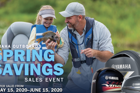 Yamaha Outboards Spring Savings Event & Repower with Reliability Promotions