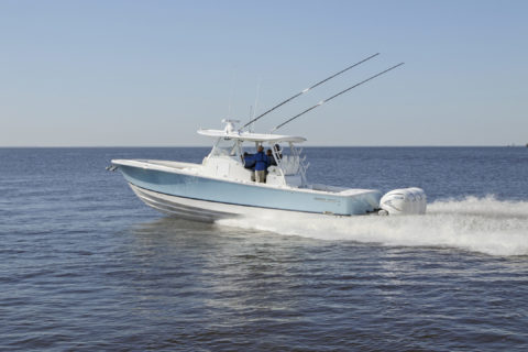 Regulator's New 37: Feature Filled for Fishing & Cruising